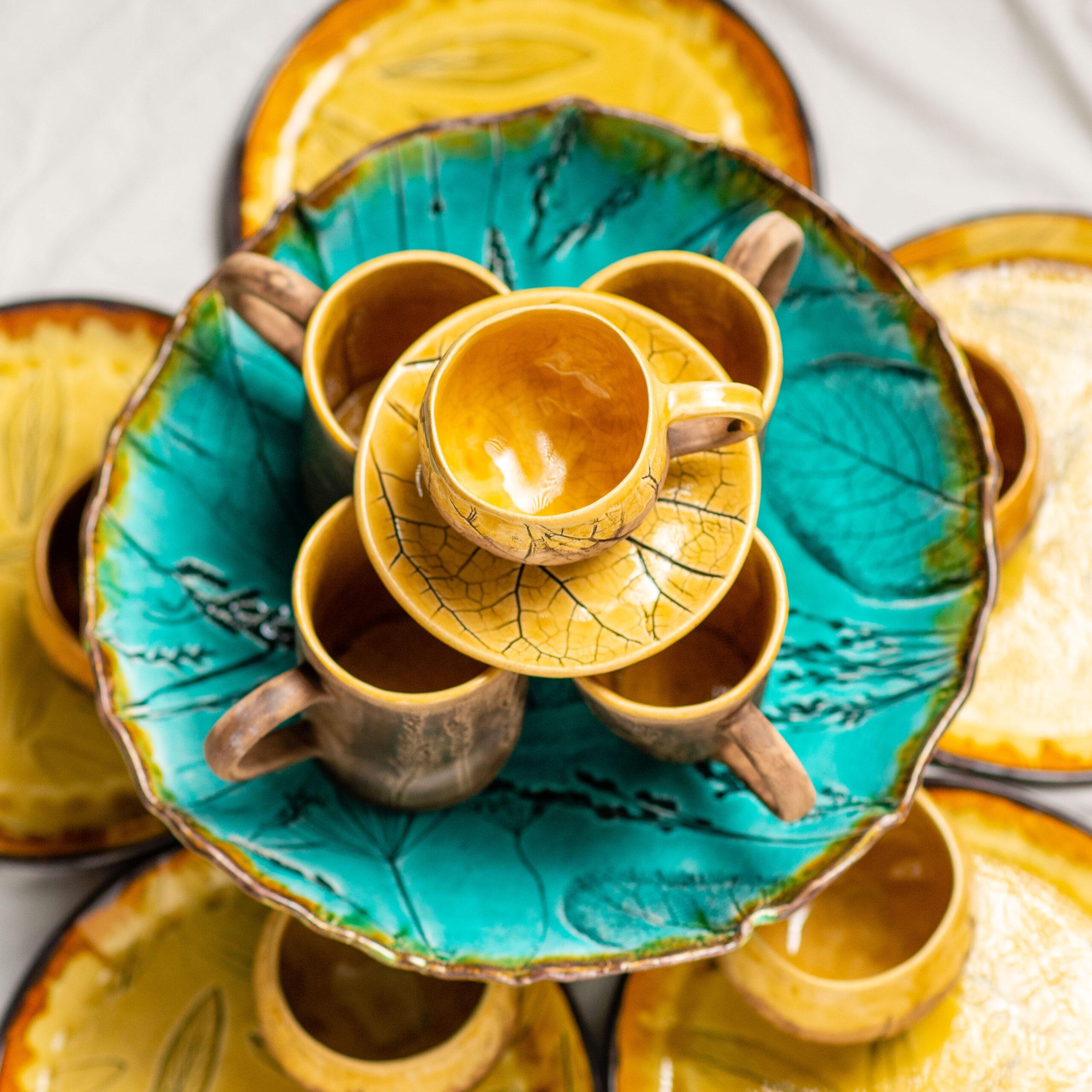 Види керамічного посуду